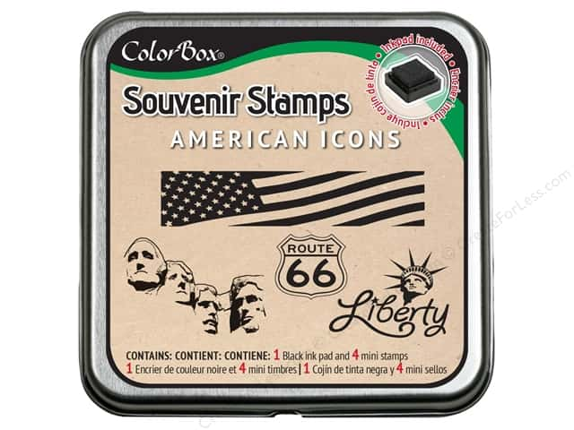 ColorBox Stamp Souvenir American Icons