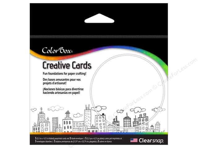 ColorBox Creative Cards and Envelopes Cityscape