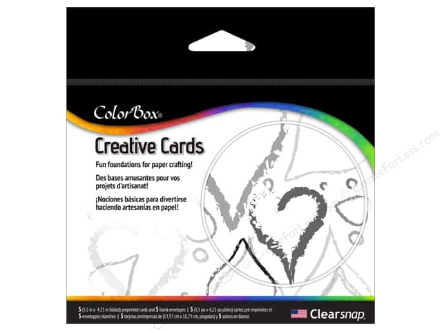 ColorBox Creative Cards and Envelopes Loved