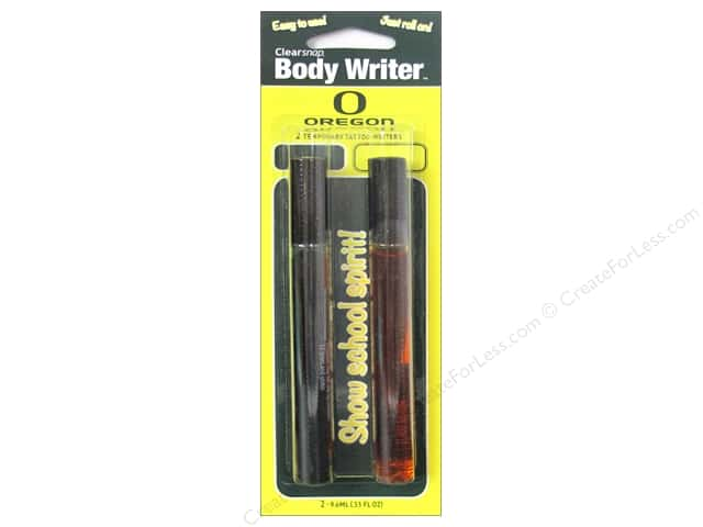 Clearsnap Body Writer 2 pc. University of Oregon