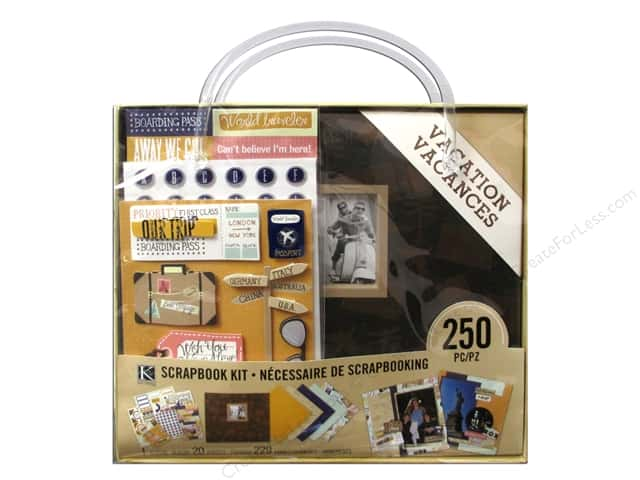 K & Company 8 x 8 in. Scrapbook Kit Vacation