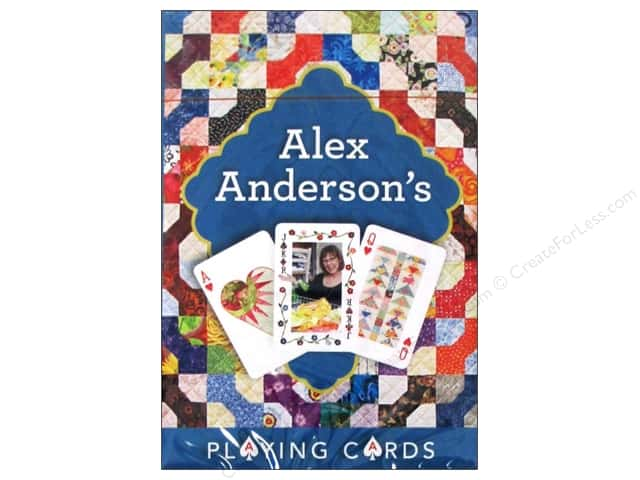 C&T Playing Cards Alex Anderson