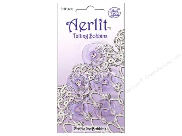 Handy Hands Notions Aerlit Tatting Bobbins Grape Ice