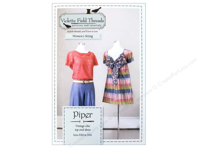 Violette Field Threads Piper Dress Misses Pattern