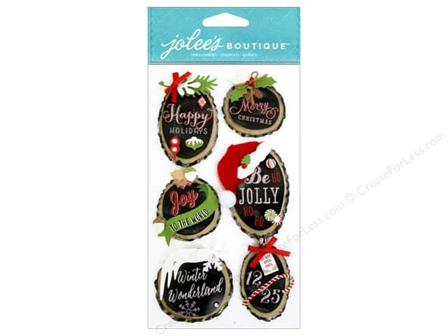 Jolee's Boutique Stickers Holiday Rings