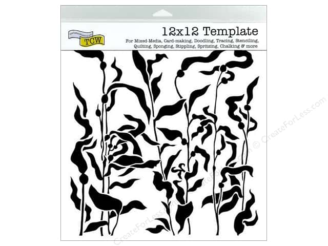 The Crafter's Workshop Template 12 x 12 in. Kelp Forest