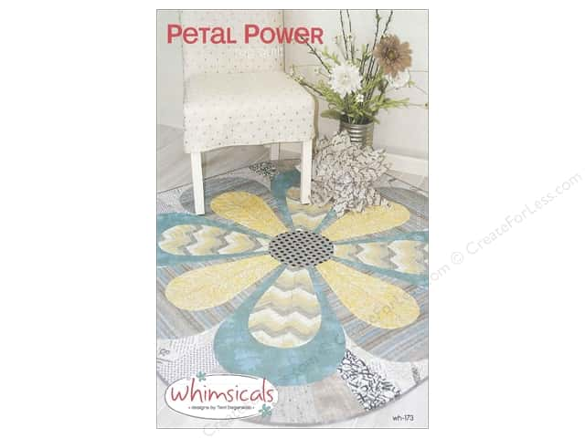 Whimsicals Petal Power Pattern