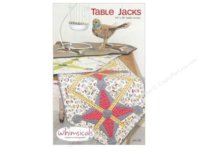 Whimsicals Table Jacks Pattern