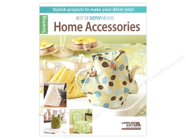 Leisure Arts Best Of SewNews Home Accessories Book