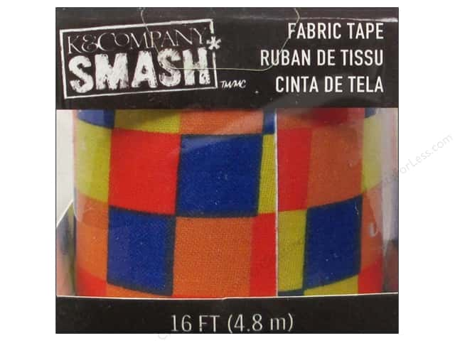 K&Company Smash Fabric Tape Color Blocks