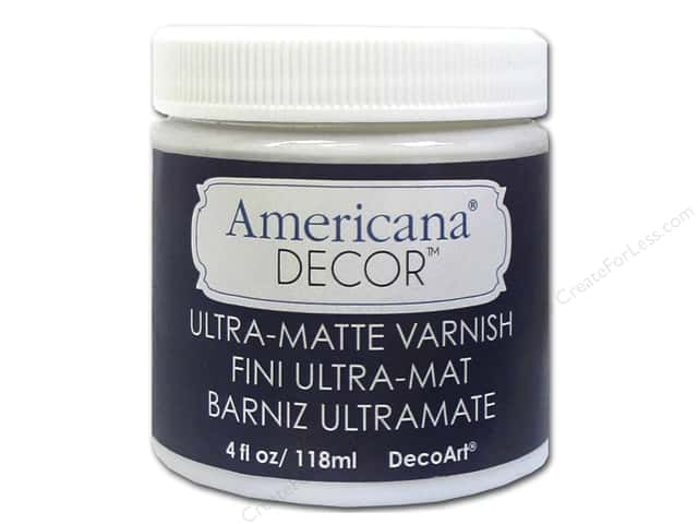 DecoArt Americana Decor Varnish 4 oz. Ultra-Matte