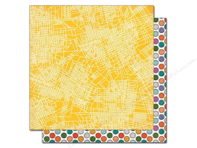 BasicGrey 12 x 12 in. Paper Second City Logan Square (25 sheets)