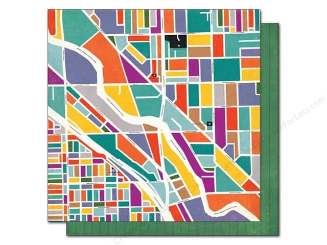 BasicGrey 12 x 12 in. Paper Second City Bucktown (25 sheets)