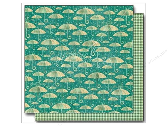 Graphic 45 12 x 12 in. Paper Raining Cats & Dogs Check It Out (25 sheets)