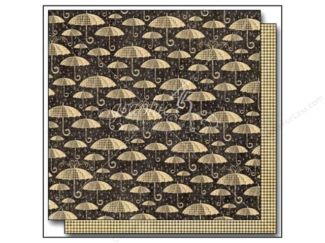 Graphic 45 12 x 12 in. Paper Raining Cats & Dogs Pitter Patter (25 sheets)