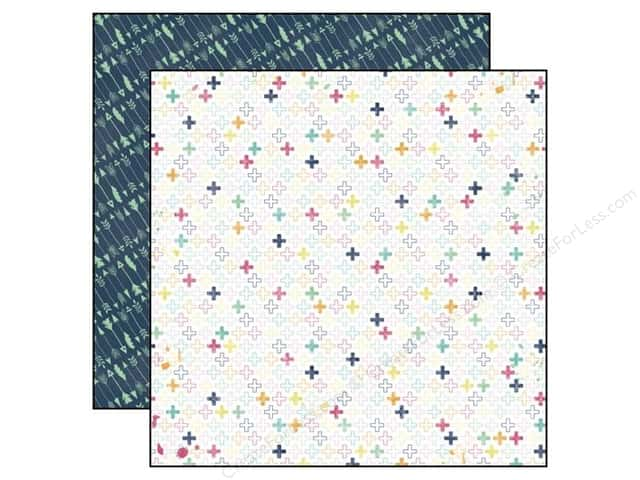 Echo Park 12 x 12 in. Paper Creative Agenda Collection Positively (25 sheets)