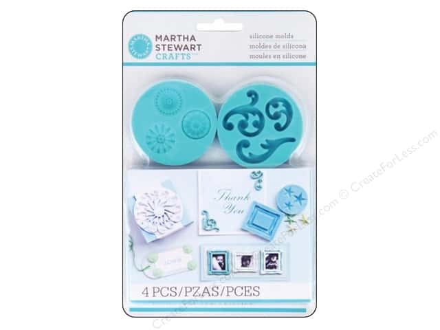 Martha Stewart Mold Silicone Decorative Design