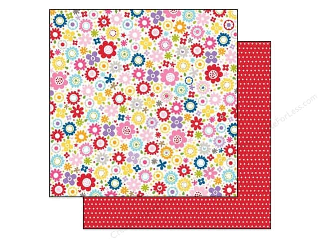 Bella Blvd 12 x 12 in. Paper Tiny Tots Sweet & Sassy (25 pieces)