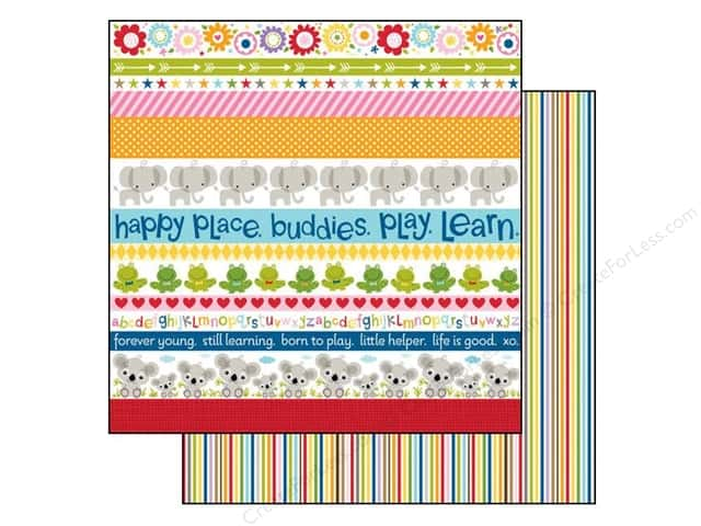Bella Blvd 12 x 12 in. Paper Tiny Tots Borders (25 pieces)