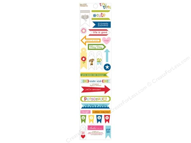 Bella Blvd Stickers Tiny Tots Trinkets (12 sets)