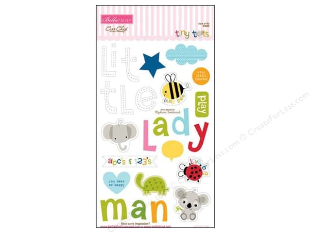 Bella Blvd Chipboard Icons Tiny Tots