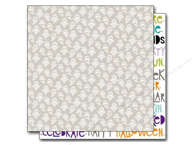Bella Blvd 12 x 12 in. Paper Halloween Magic Ghosties (25 pieces)