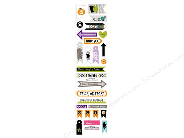 Bella Blvd Stickers Halloween Magic Trinkets (12 sets)