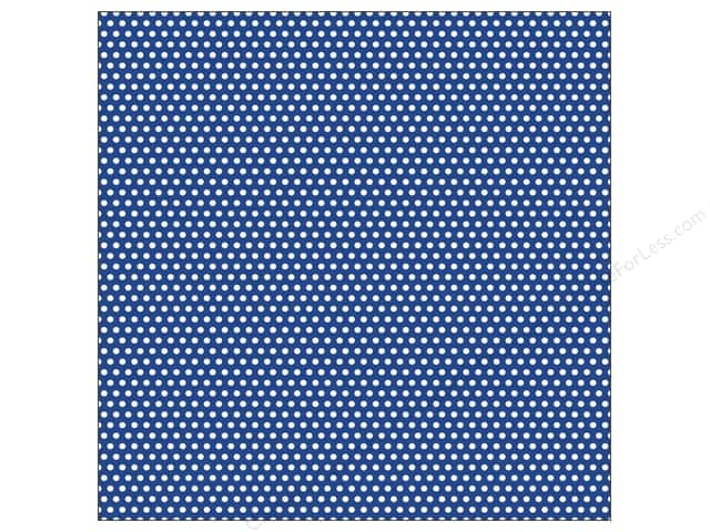 Canvas Corp 12 x 12 in. Paper Navy & Ivory Mini Dot Reverse (15 sheets)