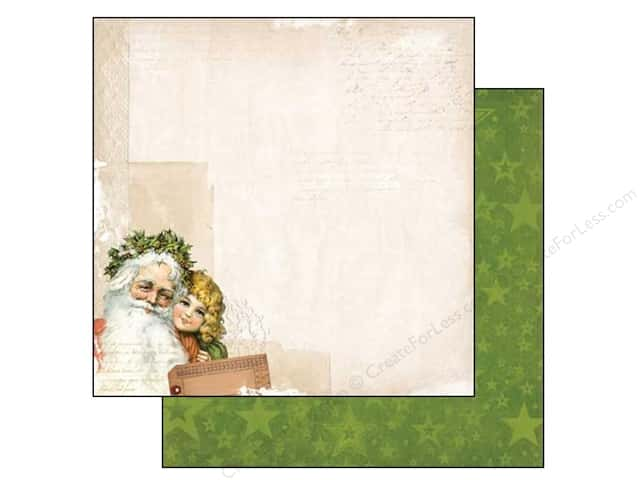 Bo Bunny 12 x 12 in. Paper Christmas Collage Yuletide (25 sheets)