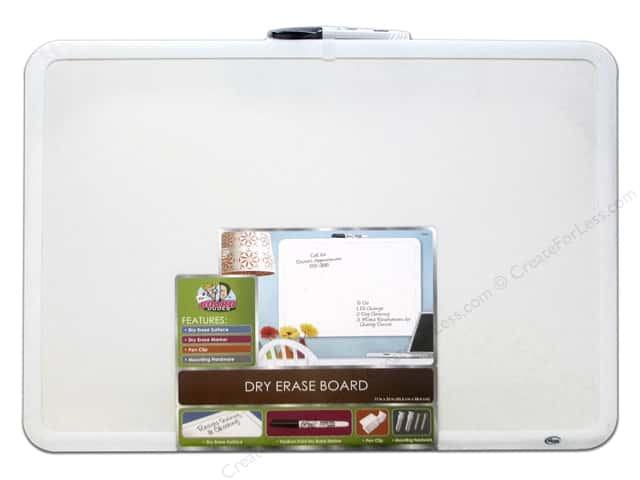 The Board Dudes Dry Erase Boards 17''x 23'' Plastic Frame
