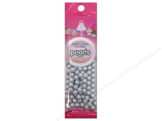 SweetWorks Celebration Pearls 1.75oz Shimmer Silver