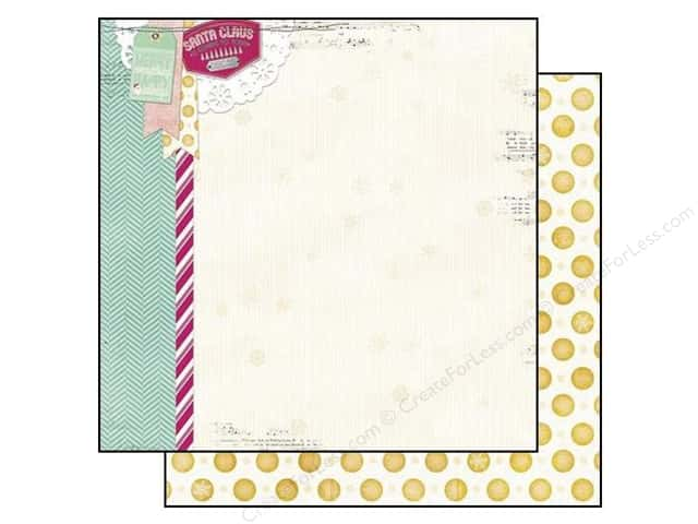 Bo Bunny 12 x 12 in. Paper Candy Cane Lane (25 sheets)
