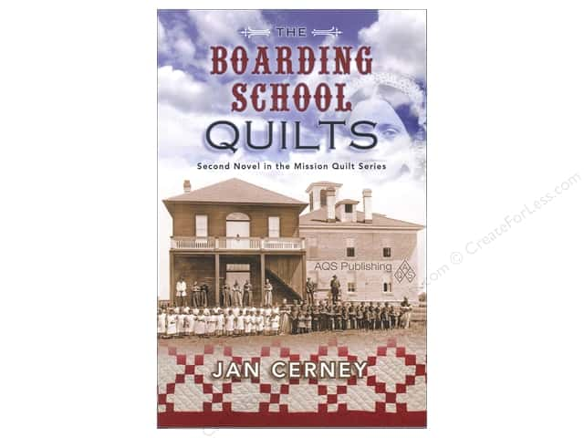 American Quilter's Society The Boarding School Quilts Book by Jan Cerney