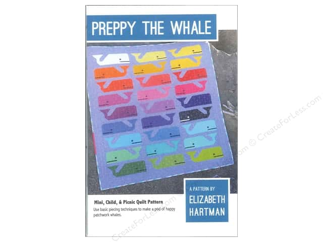 Elizabeth Hartman Preppy The Whale Pattern