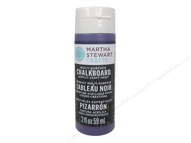 Martha Stewart Craft Paint by Plaid Chalkboard Grape Jelly 2 oz.