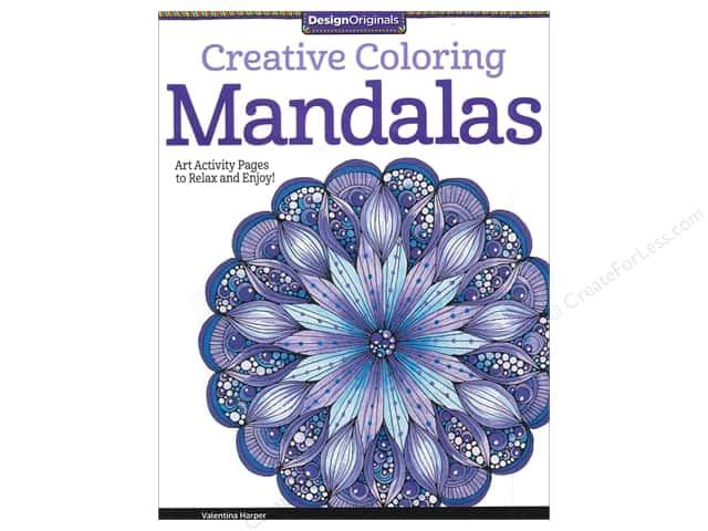 Design Originals Mandalas Coloring Book