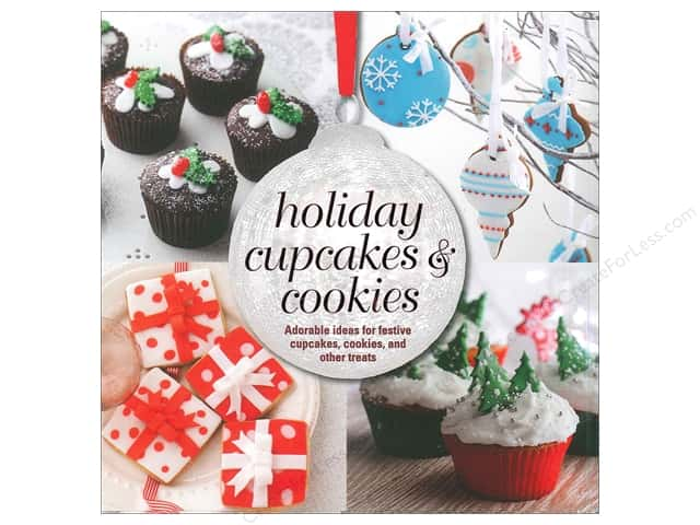 Ryland Peters & Small Holiday Cupcakes and Cookies Book