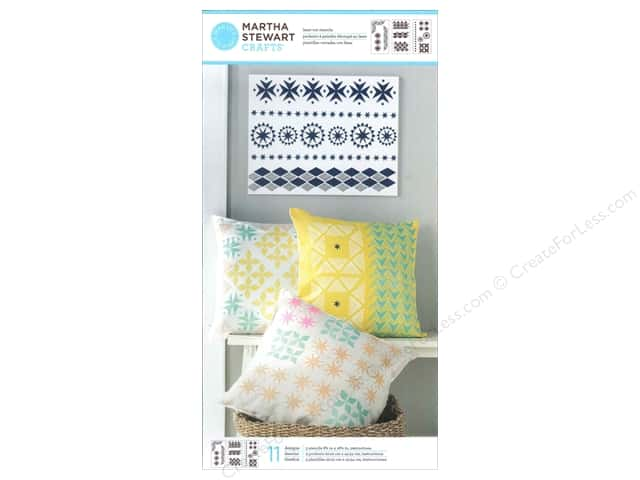 Martha Stewart Stencils by Plaid Tribal Large