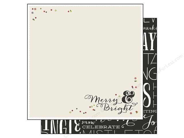 Simple Stories 12 x 12 in. Paper DIY Christmas Festive (25 sheets)