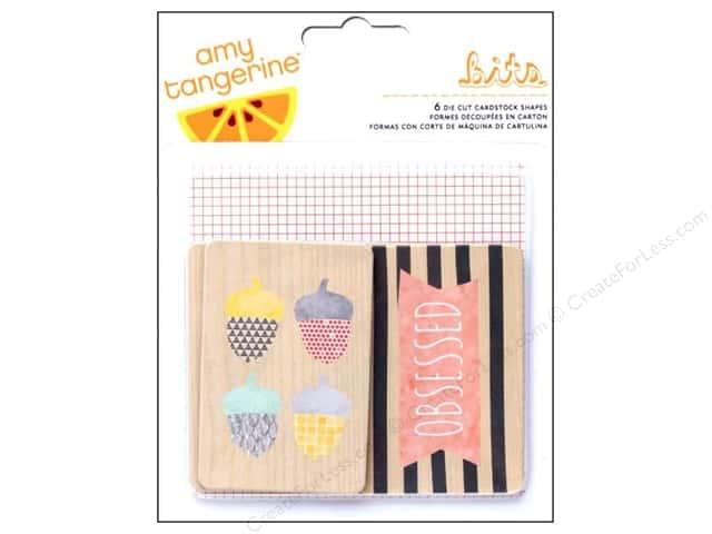 American Crafts Die Cut Shapes Amy Tangerine Stitched