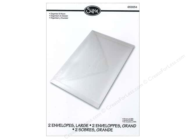 Sizzix Storage Solutions Plastic Envelopes