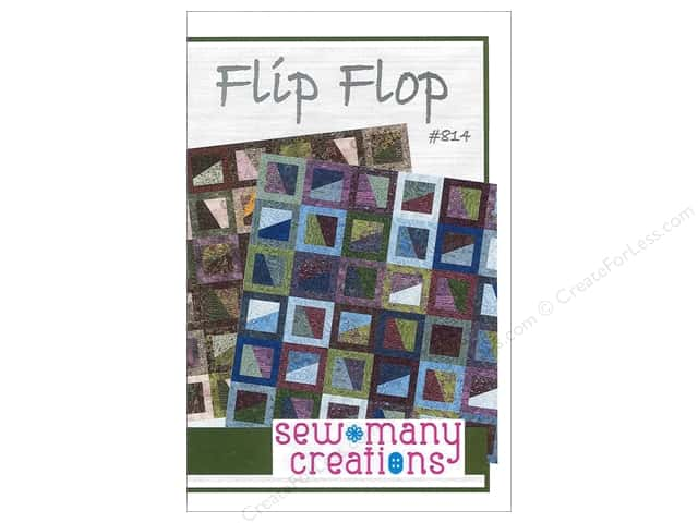 Sew Many Creations Flip Flop Pattern
