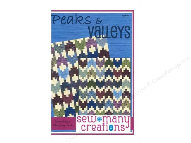 Sew Many Creations Peaks & Valleys Pattern