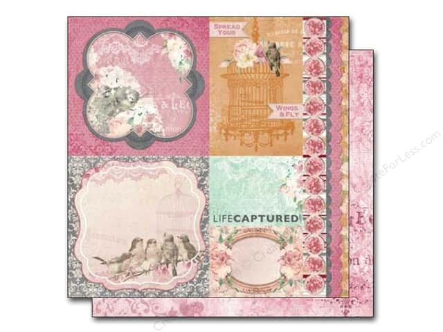 Bo Bunny 12 x 12 in. Paper Madeleine Grace (25 sheets)