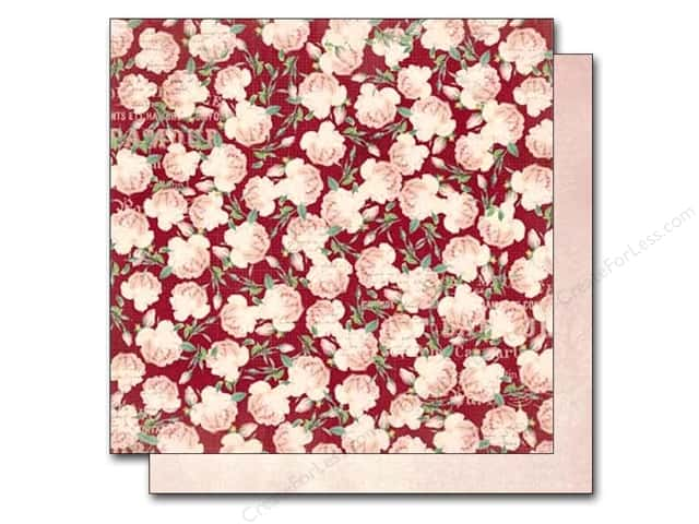 Bo Bunny 12 x 12 in. Paper Madeleine Roses (25 sheets)