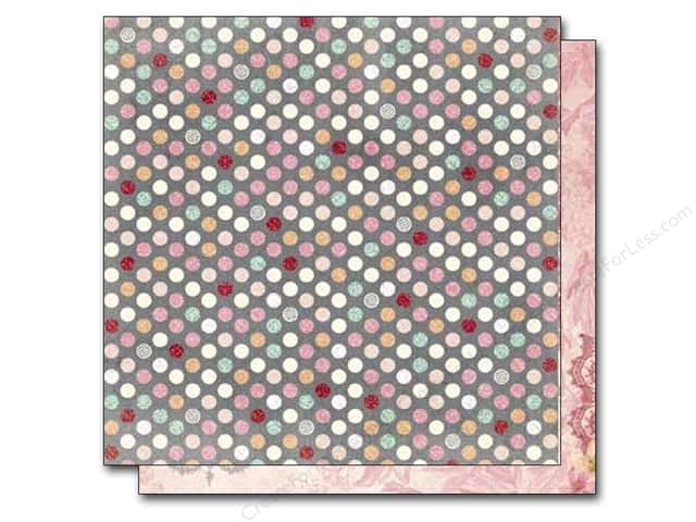 Bo Bunny 12 x 12 in. Paper Madeleine Symmetry (25 sheets)