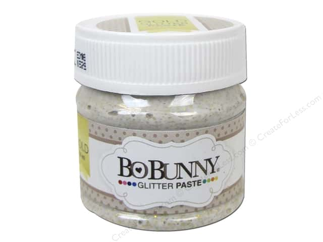 Bo Bunny Glitter Paste 1.69 oz. Gold