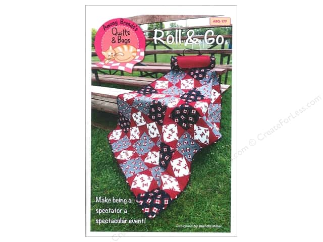 Among Brenda's Quilts Roll & Go Quilt Carry-All Pattern
