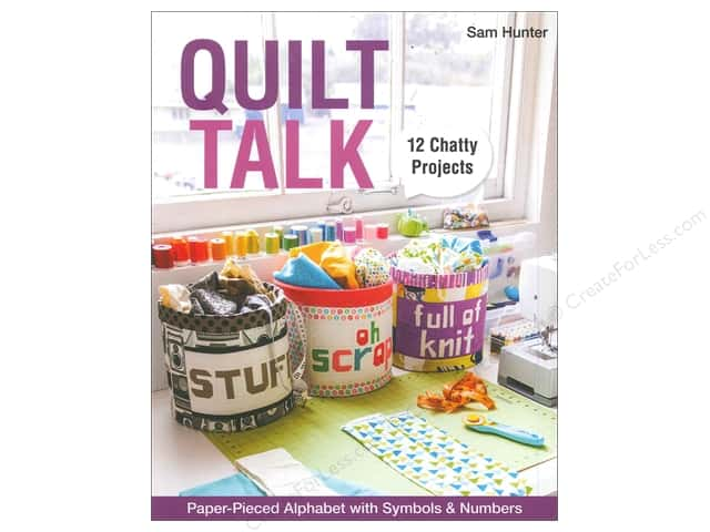 Stash By C&T Quilt Talk Book