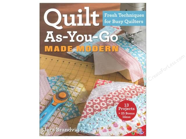 Stash By C&T Quilt As-You-Go Made Modern